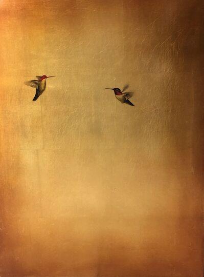 Carolyn Reynolds, 'Bronze Hummingbirds IV', 2017