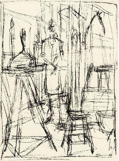Alberto Giacometti, 'Derrière le Miroir #39-40', 1951