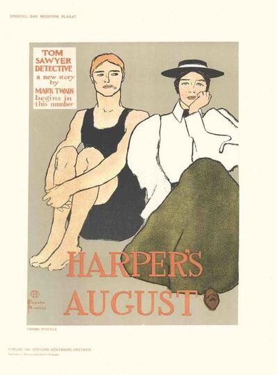 Edward Penfield, 'Edward Penfield - Harper's August - 1897', 1897