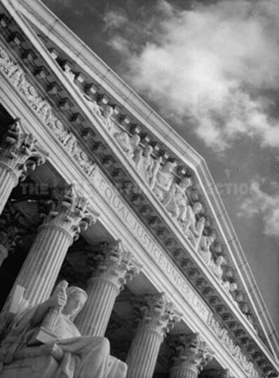 Margaret Bourke-White, 'U.S. Supreme Court', 1937