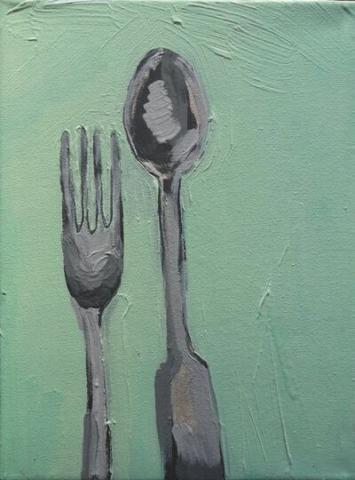 Claudia Baez, 'Patti Smith Land 250: Arthur Rimbaud's Utensils. Musée Rimbaud, Charleville, 2005', 2018