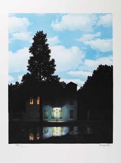 René Magritte, 'L'Empire des Lumières (The Empire of Light)', 2010