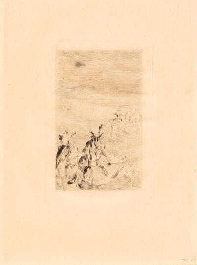 Pierre-Auguste Renoir, 'Sur la plage'