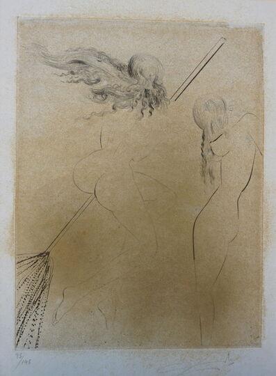 Salvador Dalí, 'Faust Sorcieres au Balai', 1969