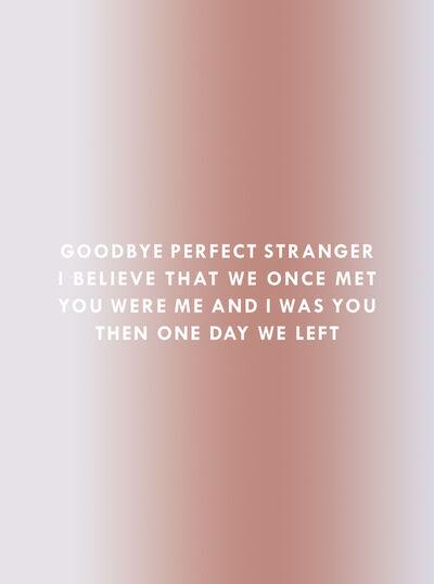 Dawn Ng, 'Goodbye Stranger', 2017