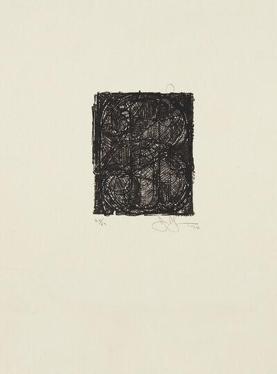 Jasper Johns, '0 Through 9', 1976