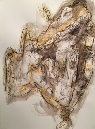 Michael K. Paxton, 'Conte Crayon Drawing', 2018