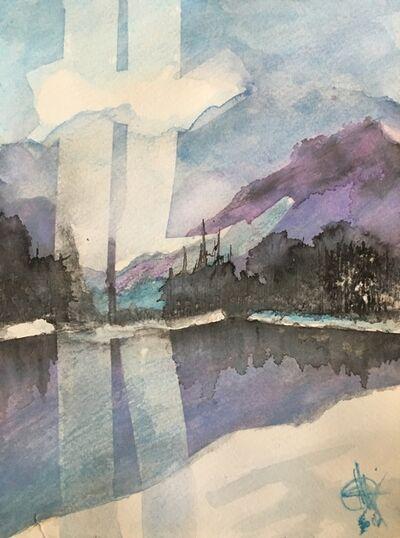 Mariam Qureshi, 'Purple mountain ', 2016