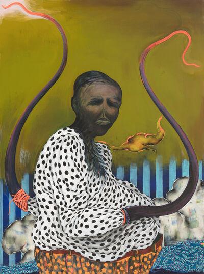 Simphiwe Ndzube, 'Untitled Gravedigger', 2018