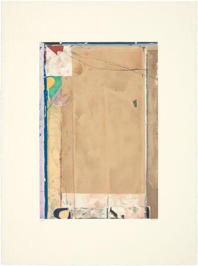 Richard Diebenkorn, 'TOUCHED RED', 1991