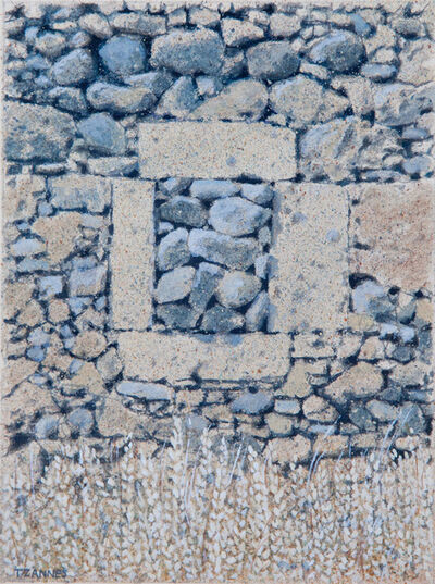 George Tzannes, 'Ancient Rock Wall with Stone-filled Window', 1987