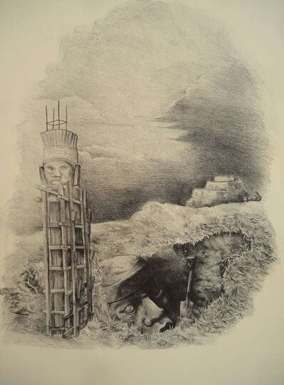 Abraham González Pacheco, 'Reconstruir', 2015