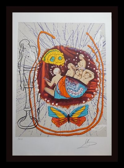 Salvador Dalí, 'Papillons Anciennes Renaissance', 1977