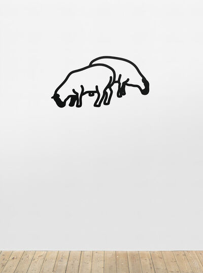 Julian Opie, 'Sheep 1', 2015