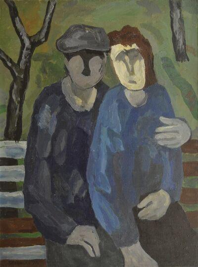 Vadim Semenovich Velichko, 'At a bench', 1997