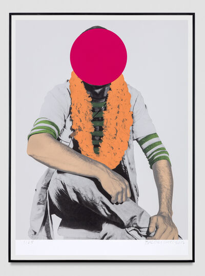 John Baldessari, 'Hero', 2017