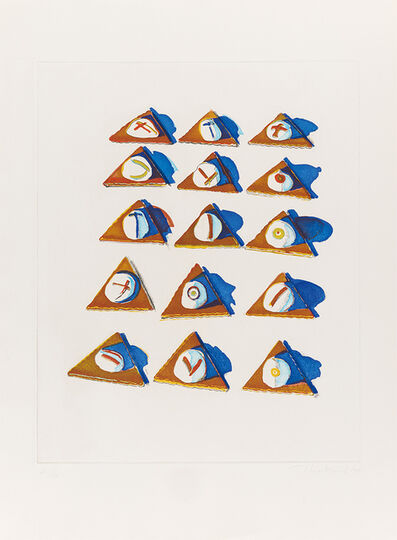 Wayne Thiebaud, 'Triangle Thins (from Seven Still Lifes and a Silver Landscape)', 1970