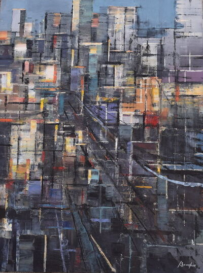 Steven Bewsher, 'Blue Metropolis'