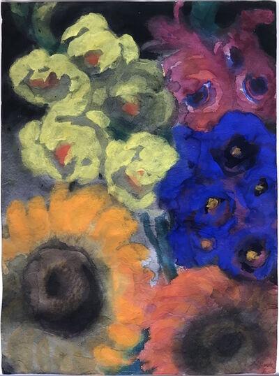 Emil Nolde, 'Sommerblumen', ca. 1935