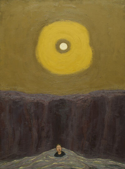 Seth Michael Forman, 'Man in Sea, Sun in Sky', 2016-17