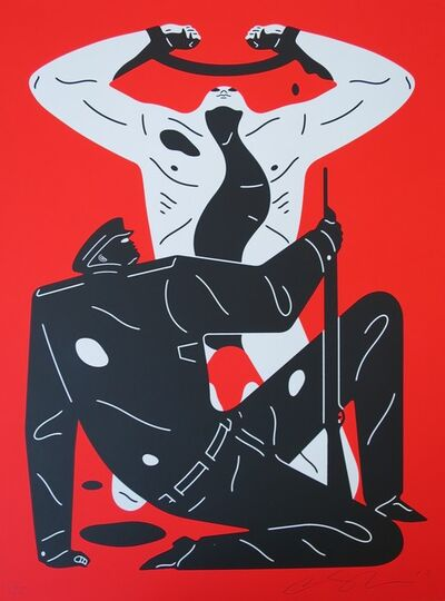 Cleon Peterson, 'The Collaborator (red)', ca. 2019
