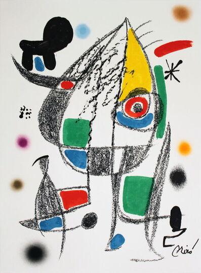 Joan Miró, 'Maravillas #1072-1975', 1975