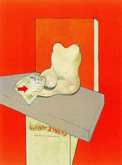 Francis Bacon, 'Study for the Human Body from a Drawing by Ingres 1982-84', 1984