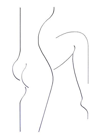 Hildegarde Handsaeme, 'Silhouete', 2016