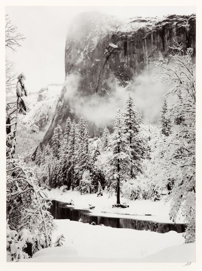 Ansel Adams, 'El Capitan, Winter'