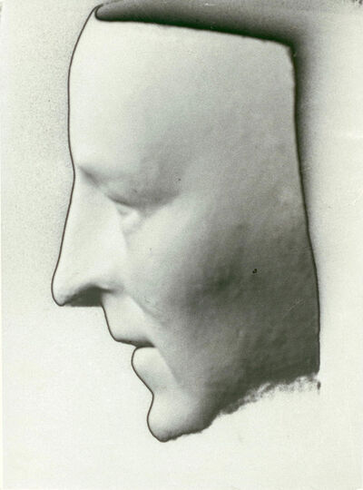Man Ray, 'Death Mask of Amedeo Modigliani', 1928