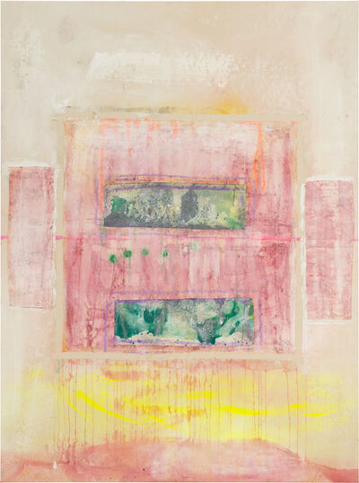 Frank Bowling, 'Sacha's Green', 2016