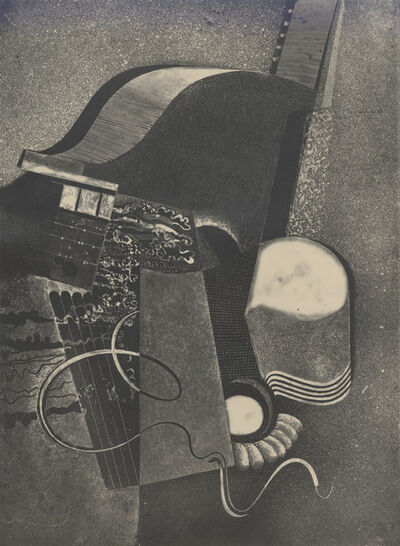 Karol Hiller, 'Heliographic composition XVIII', 1938