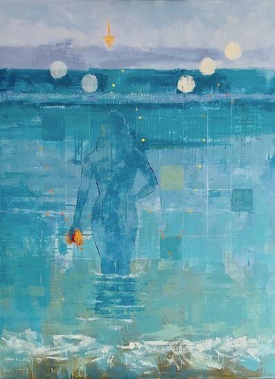 Kimberlee Alemian, 'Ephemeral Bather (Ocean 42818)', 2018