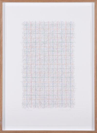 Gottfried Honegger, 'Composition au quadrillage', circa 2010