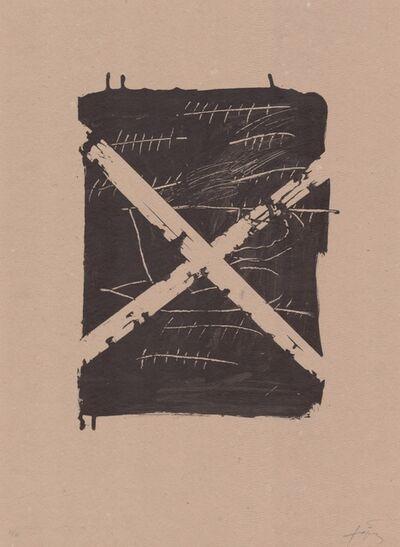 Antoni Tàpies, 'Llambrec material VIII', 1970-1980