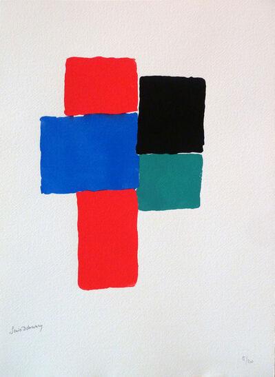 Sonia Delaunay, ' LES ILLUMINATIONS d'Arthur RIMBAUD', 1973