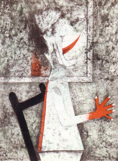 Rufino Tamayo, 'El Grito', 1975
