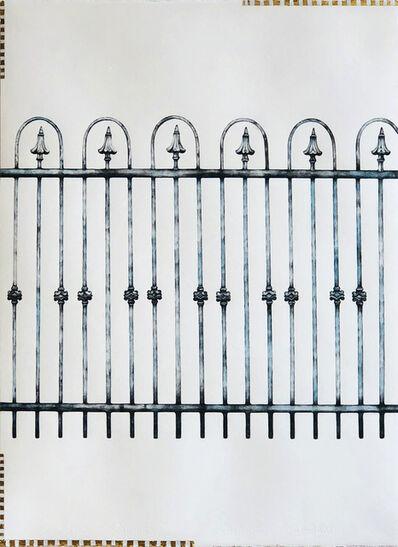 Kiki Gaffney, 'Wrought Iron Fence', 2017