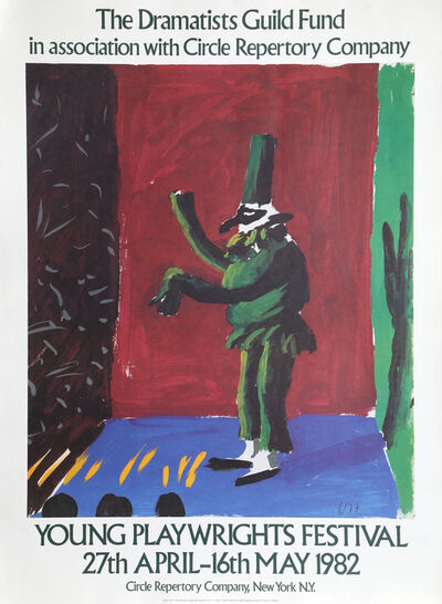 David Hockney, 'Young Playwrights Festival', 1982