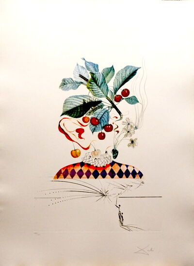 Salvador Dalí, 'FLorDali/Les Fruits Cherries', 1969