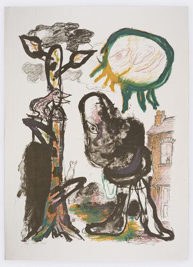 Ken Kiff, 'Man in Street', 1991
