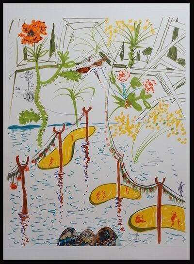Salvador Dalí, 'Imaginations & Objects of The Future Biological Garden', 1975