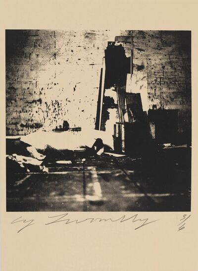Cy Twombly, 'Robert Rauschenberg Combine Material Fulton St. Studio, 1954 (NYC)', 1954