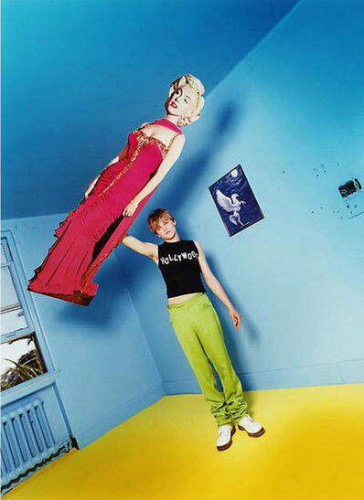 David LaChapelle, 'Leonardo DiCaprio: Illusion of Levitation', 1995