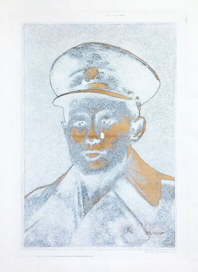 Wah Nu and Tun Win Aung, 'White Piece #0135: Forbidden Hero (The Working People's Daily)', 2012-2013