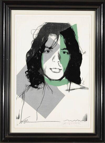 Andy Warhol, 'Mick Jagger F&S II.138', 1975