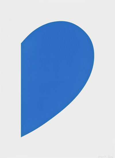 Ellsworth Kelly, 'Blue Curve', 2013