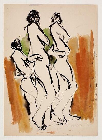 Hoo Mojong, '人物之二十二 Figure 22', 1969