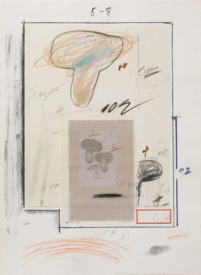 Cy Twombly, 'Natural History Part I, No. III', 1974