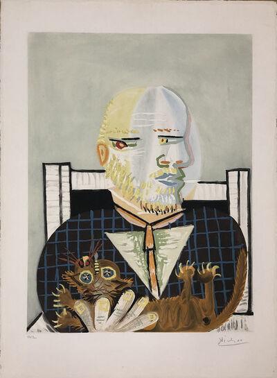Pablo Picasso, 'Vollard et son Chat ', 1960